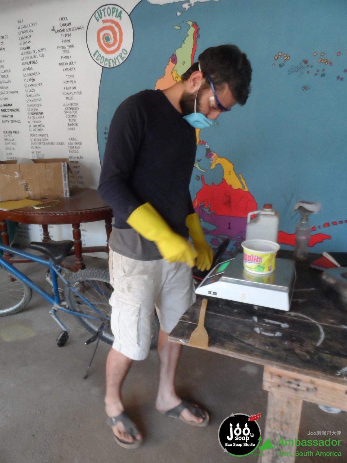 JooSoap Ambassador Tom Eutopia Workshop
